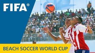 HIGHLIGHTS: Paraguay v. Tahiti - FIFA Beach Soccer World Cup 2015