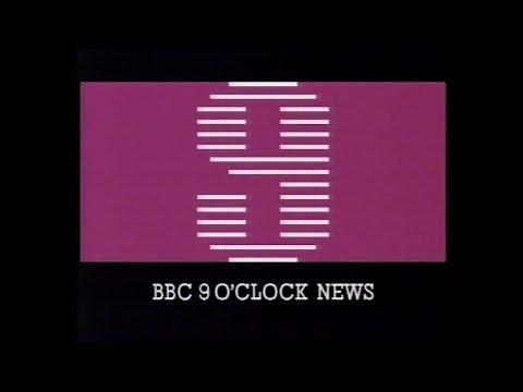Nine O'Clock News, BBC-1, 1st March 1984