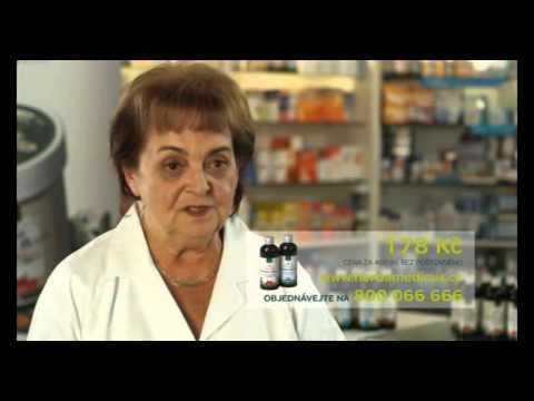Spot TV Prima - Koňská mast bylinné lihové mazání - rozhovor Jiřina Bohdalová a lékárnice