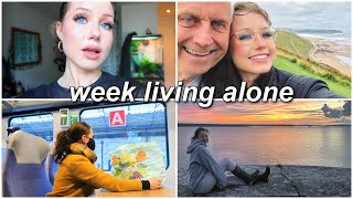 week in my life living alone | field trip to wales, back to school shopping & dracula's real castle