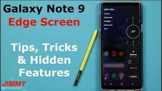 Galaxy Note 9 EDGE PANELS In-Depth (Edge Screen)