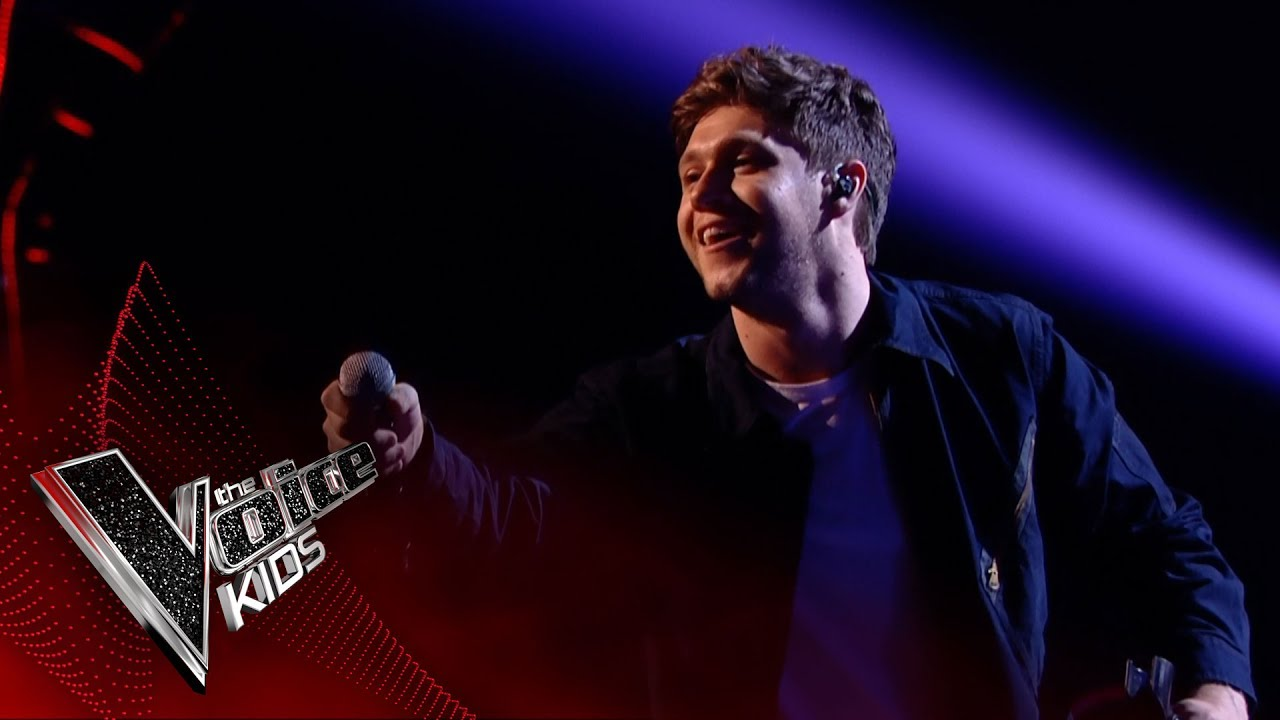 Niall Horan performs 'Slow Hands': Live Final | The Voice Kids UK 2017