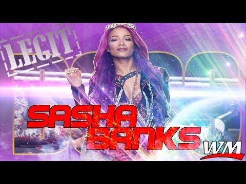 WWE Sasha Banks - Sky's The Limit - (official theme song) 2017 HD - Arena Effect