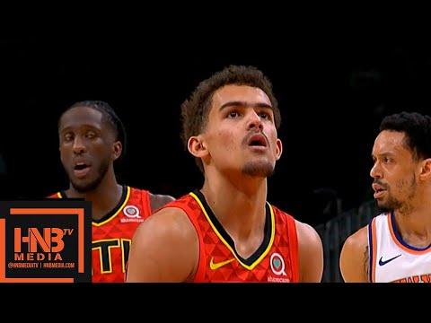 Atlanta Hawks vs New York Knicks 1st Half Highlights | 02/14/2019 NBA Season