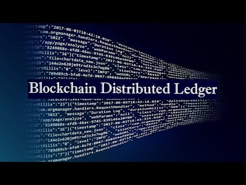 What is Blockchain Distributed Ledger ?