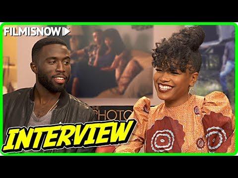 Chanté Adams & Y'lan Noel Interview For THE PHOTOGRAPH