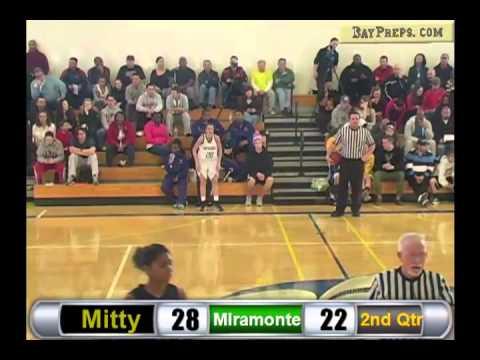 Girls Hoops: Campolindo Shootout - Miramonte vs. Archbishop Mitty - January 26, 2013