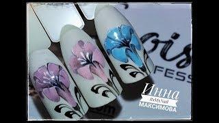 🌺 КОЛОКОЛЬЧИК на ногтях 🌺 EGOISTA professional 🌺 Цветы на ногтях 🌺 Дизайн ногтей гель лаком 🌺