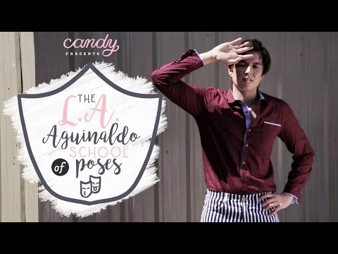 LA Aguinaldo: School of Poses