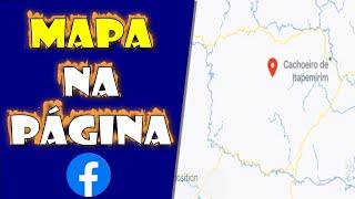 Como colocar mapa de localização na Fan Page do Facebook
