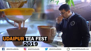 Unique Paan Tea & Aromatic Rose Flavored Tea I Spicy MAGGI at Udaipur Tea Fest 2019