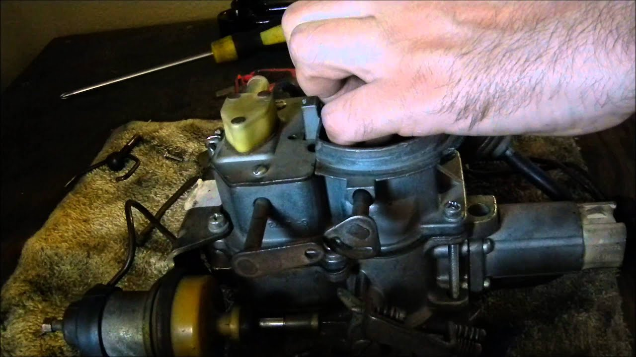 medium resolution of how to clean the jeep carter bbd carb idle jets