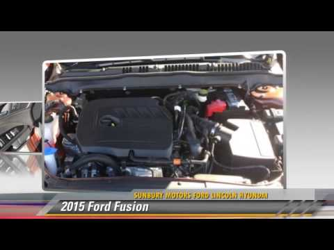 2015 Ford Fusion Sunbury Pa Fb917 Youtube