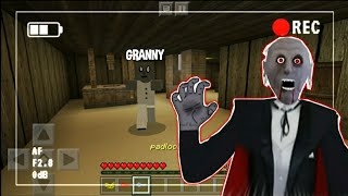 Granny Horror Map Full Gameplay - Minecraft PE