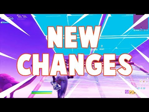 THE NEW CHANGES IN BUILDING ✔| SEASON 2 CHAPTER 2 (FORTNITE BATTLES ROYALE)