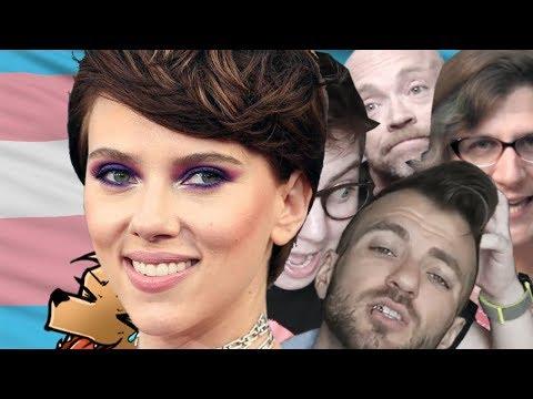 Trans Community vs Scarlett Johansson  never go full retard