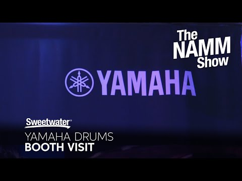 Yamaha Drum Booth at Winter NAMM 2020