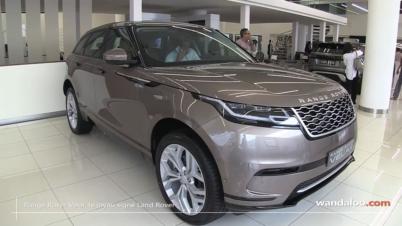 range rover velar lancement au maroc youtube. Black Bedroom Furniture Sets. Home Design Ideas