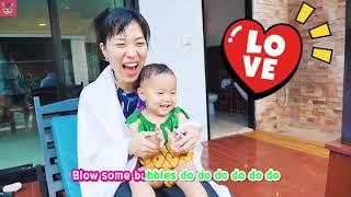 큰일났어요!! 수영장에 국민이가 빠졌어요~ Swimming song | 핑크퐁 체조! 유치원 교육, 인기동요 | 말이야와아이들