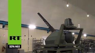 Nueva ametralladora automática rusa de control remoto