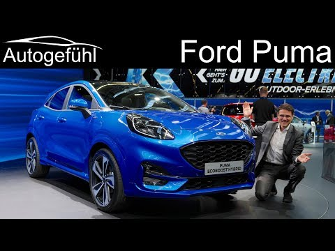 Ford Puma REVIEW new small SUV on Fiesta platform - Autogefühl