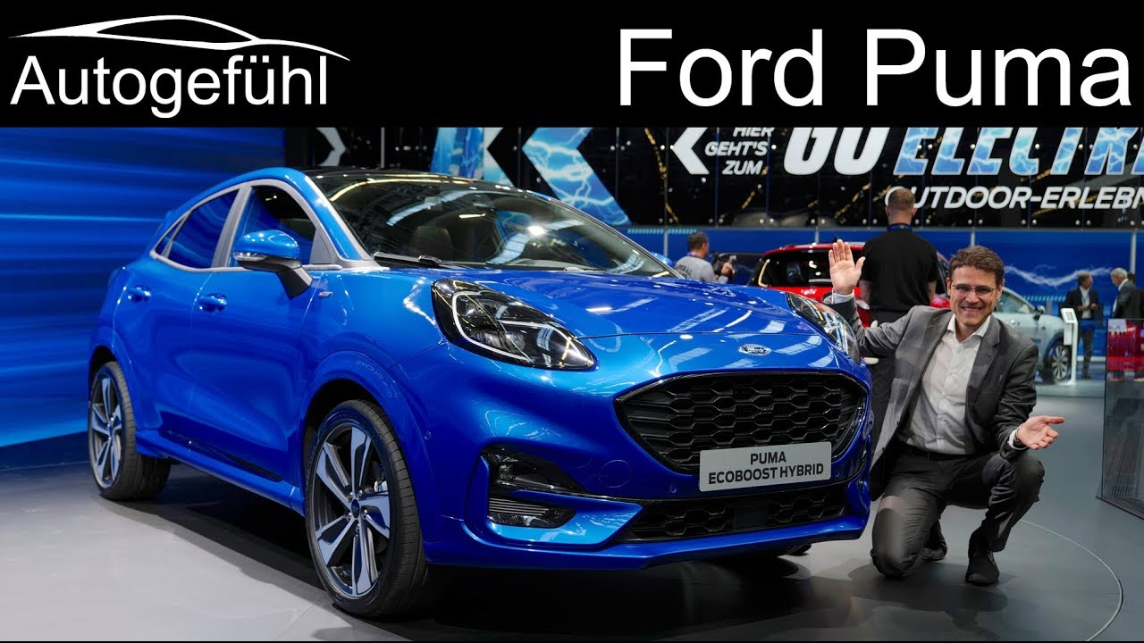 Ford Puma Review New Small Suv On Fiesta Platform Autogefuhl