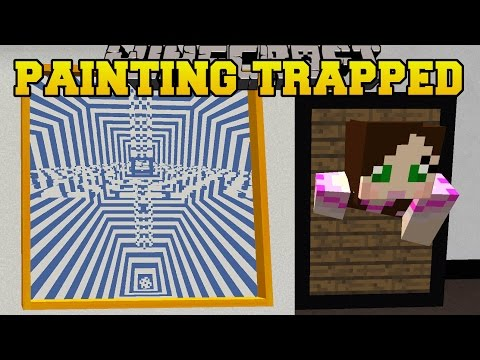 Minecraft: TRAPPED IN A PAINTING! - BEYOND PERCEPTION 2 - Custom Map