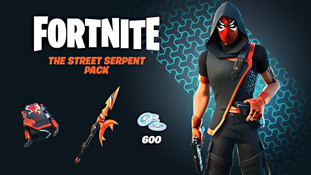 New STREET SERPENT Pack!! Winning in Solos! (Fortnite Season 4)