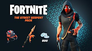 New STREET SERPENT Pack!! Winning in Solos! (Fortnite Season 4)