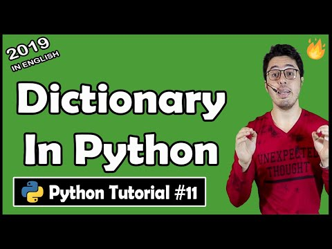 Dictionary and related methods in Python | Python Tutorial #11 thumbnail