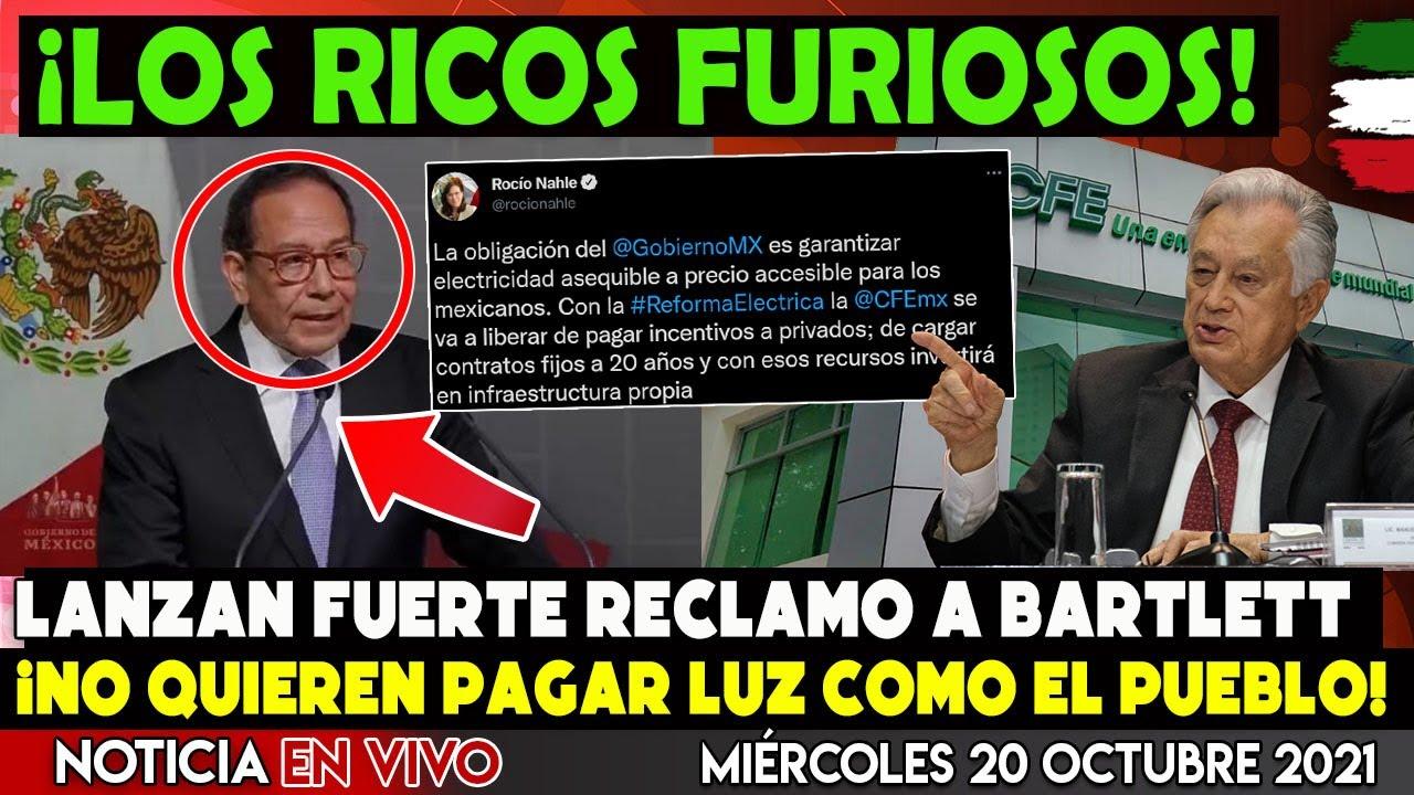 LOS QUE SE SIENTEN DUEÑOS DE MÉXICO ¡NO QUIEREN PAGAR LA LUZ! BUSCAN DETENER LA REFORMA DE AMLO