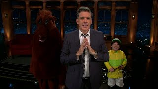 Late Late Show with Craig Ferguson 10/13/2010 Minnie Driver, Diedrich Bader