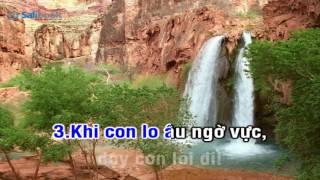 [Karaoke TVCHH] 167- XIN CHO CON ĐI ĐƯỜNG NGÀI - Salibook