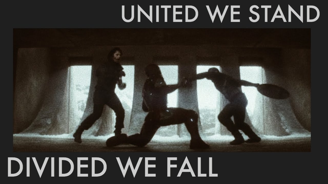 Download united we stand, divided we fall. | marvel