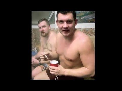"""Стас """"Ай как просто"""" и Тимур Сидельников в бане"""