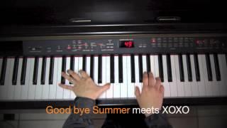 F(X) Goodbye Summer feat EXO D.O XOXO piano