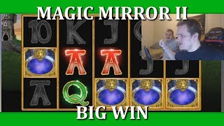 BIG WIN ON MAGIC MIRROR DELUXE II !!!!!