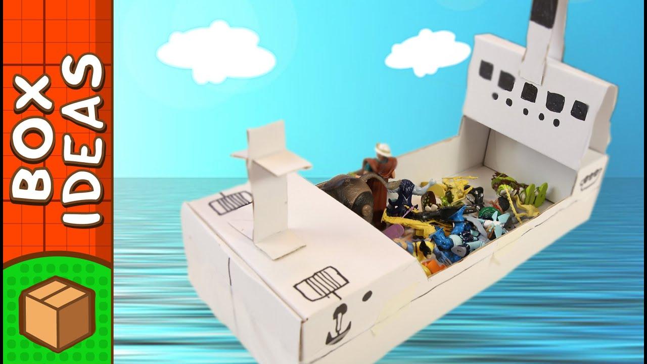 DIY Cardboard Boat