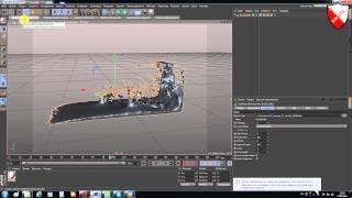 Realflow- урок 39 -  Ещё раз об экспорте гибридо мэш в Cinema 4d
