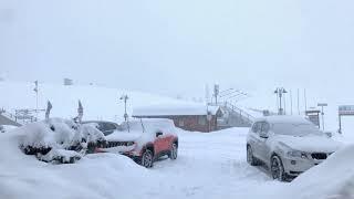 25 cm di neve fresca non prevista ...
