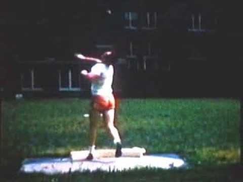 USA lite-weight high school shot-putter throws 60 Feet