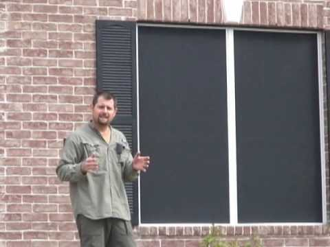 JoshHobbs.com 90% vs 80% Solar Window Screen Pros & Cons