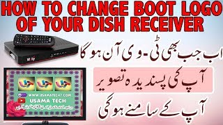 How to change startup logo in gx6605s chip softwares usama tech