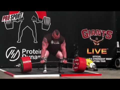Tremendo: levantó 500 kilos en una competencia y casi le explota la cabeza