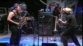 Traktorkestar - Saksofon Battle (Nisville Jazz Festival 2011)