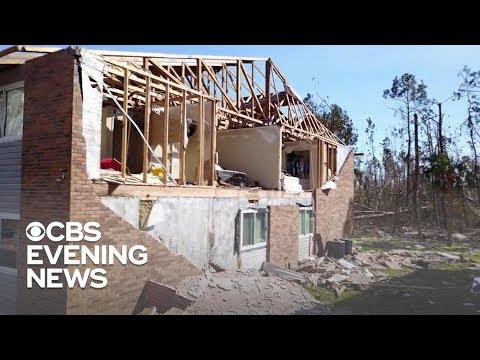 Family of 12 left stranded after Hurricane Michael