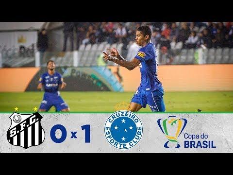 Melhores Momentos - Santos 0 x 1 Cruzeiro - Copa do Brasil - (01/08/2018)