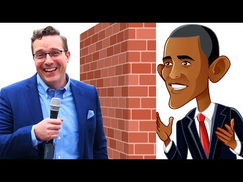 Preston Scott - If Walls, Barriers Don't Work Why Does Obama Have Several?