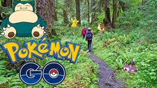 Pokemon Go Thailand ลุยป่า 180km ไปจับโปเกม่อน