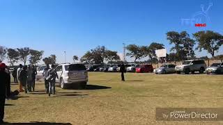 Watch Chamisa arriving for the Masvingo, reload rally
